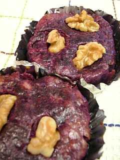 紫芋のスイートポテト