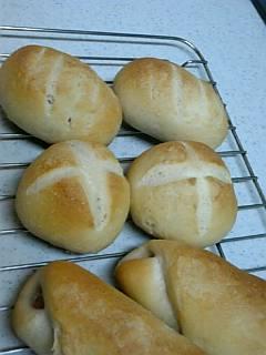 フランスパン作り